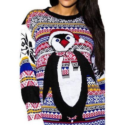 pingvin jultröja till hon