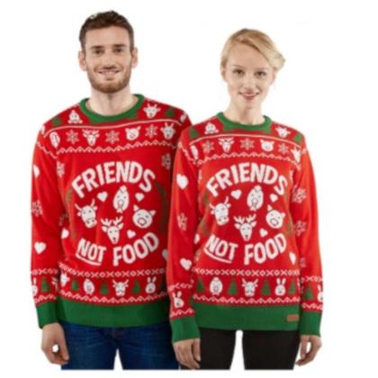 Dont Eat Us jultröja till henne och honom