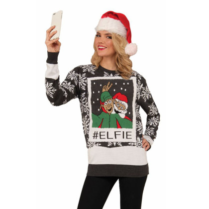 Selfie jultröja